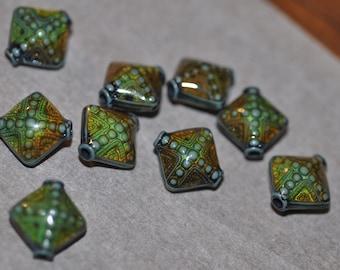 Destash of 9 mood beads