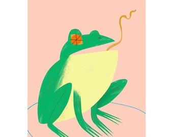 Giclée Print - Frog