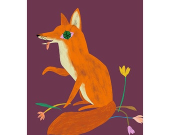 Giclée Print - Fox