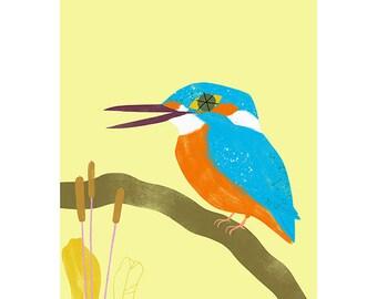 Giclée Print - Kingfisher