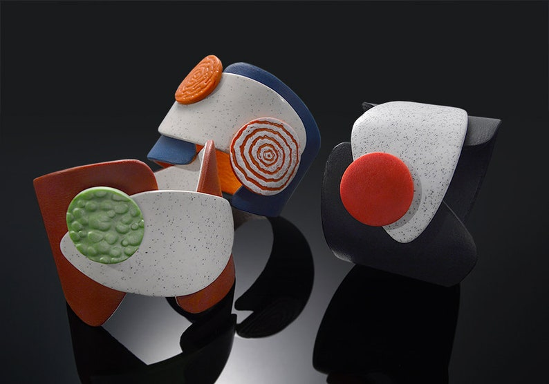 Polymer Clay PDF Tutorial Clasp Bracelet image 0