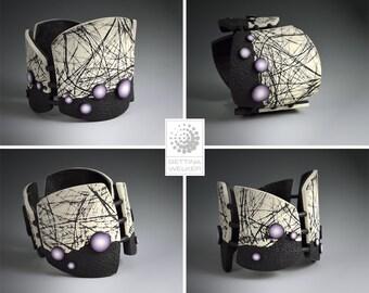 """Polymer Clay PDF Tutorial """"Thread Bracelet"""""""