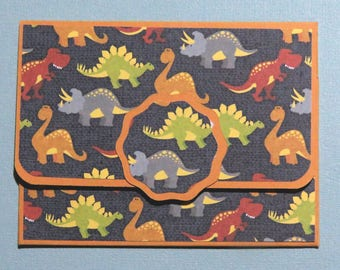 Dinosaur Gift Card Holder