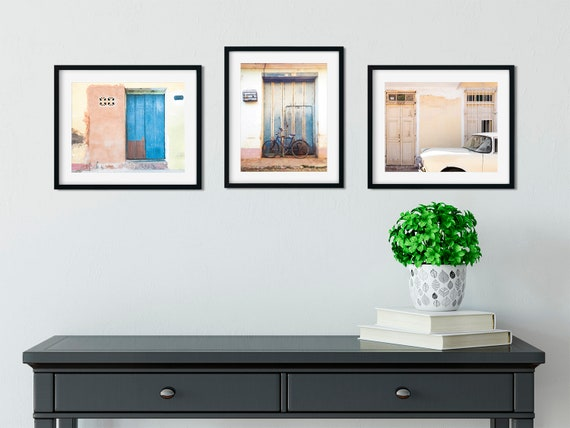 99.Art Decoration POSTER.Graphics to decorate home office.Welcome to Cuba Travel