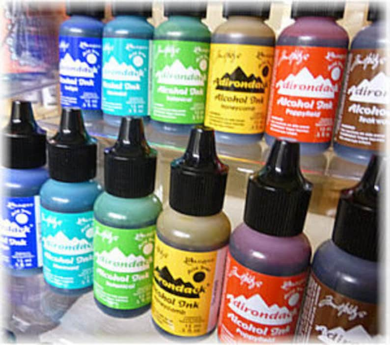 Tim Holtz Alcohol Ink Earth tones new 6 colors 2015 release image 0