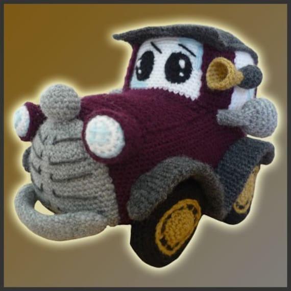 Amigurumi Patron Crochet PDF Auto Clásico | Etsy
