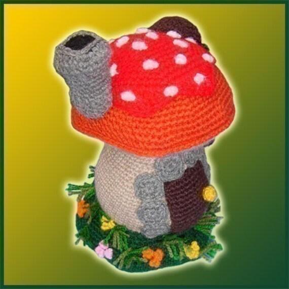 Amigurumi Patron Crochet PDF Casa Hongo | Etsy