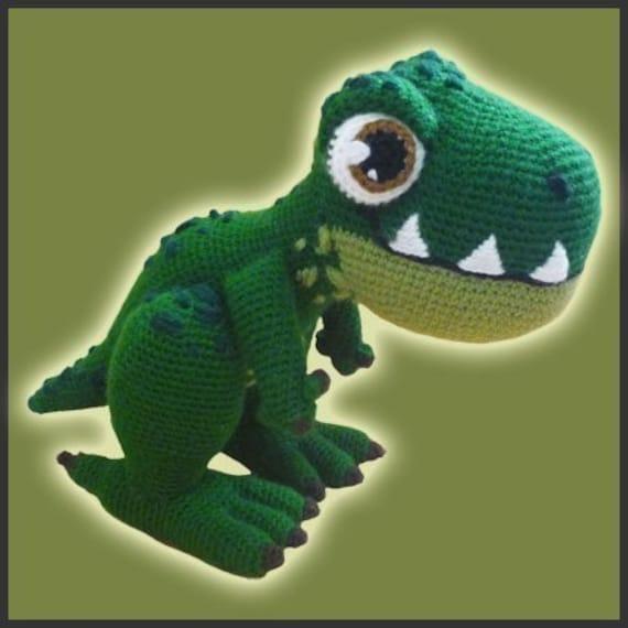 Amigurumi Crochet Patron T-Rex   Etsy