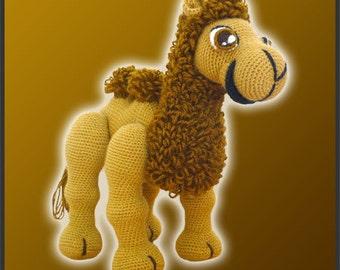 PDF Amigurumi Crochet Pattern - Joe The Camel