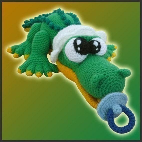 Amigurumi Crochet Patron Cocodrilo Bebé   Etsy