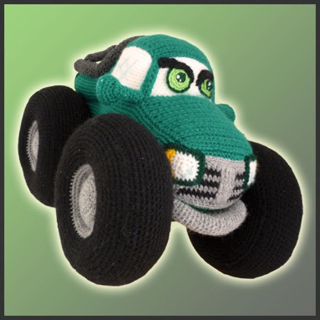 PDF Amigurumi Crochet Patron Camioneta Monstruo | Etsy