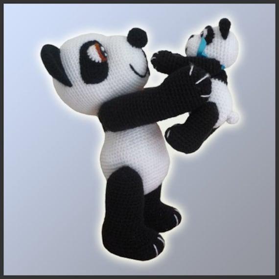 Amigurumi Patrones Crochet Osos Panda | Etsy