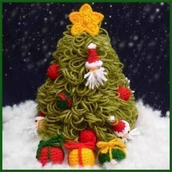 Crochet Christmas Tree Free Patterns for Holiday Decoration ... | 570x570