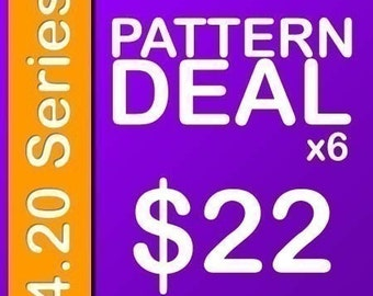 Delicious Crochet Amigurumi Pattern PDF Deal 4.20 Series