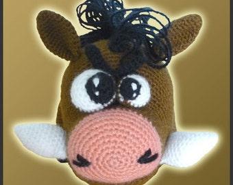 Amigurumi Pattern Crochet Wild Boar DIY Digital Download