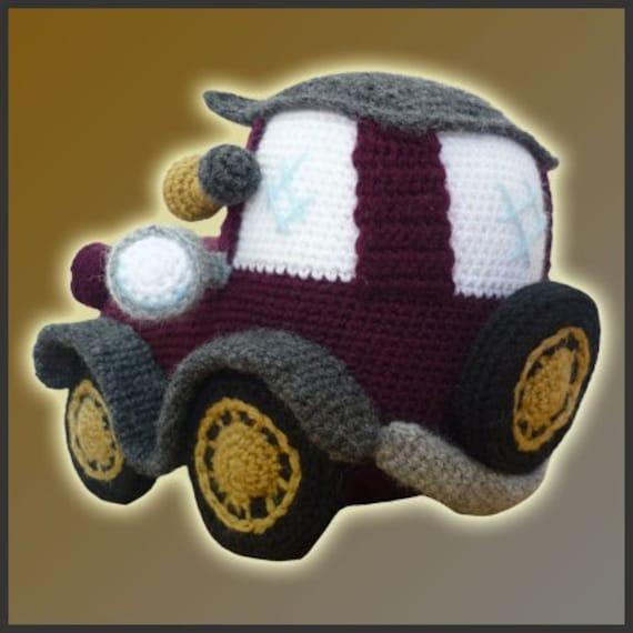 Amigurumi Pattern - Car & Caravan - Crochet Pattern | 570x570