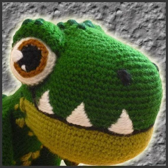 Amigurumi Patron Crochet Dinosaurio T-Rex   Etsy