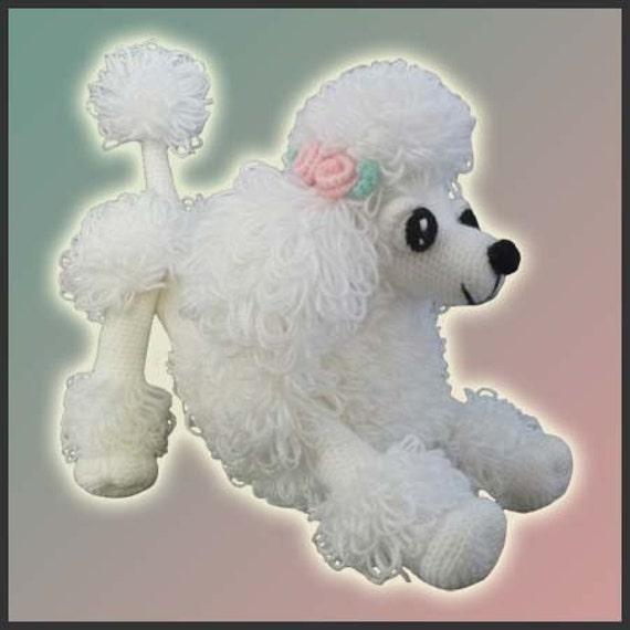 Amigurumi Pattern Crochet Lara Poodle Toy DIY Digital Download | Etsy