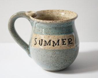 Personalized mug,  engraved cup,  mug with name, stoneware