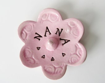 Nana Keepsake Ring Dish, Ready to Ship, Gift for Nana