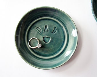 Dad gift, sweet, personalized, trinket bowl or jewelry dish, gift for father