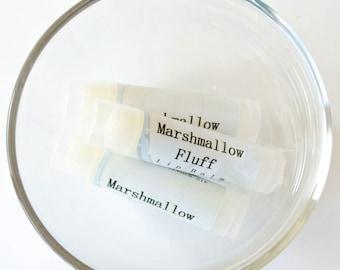Marshmallow Fluff Lip Balm Sweet Lip Care Shea Butter Moisturizer