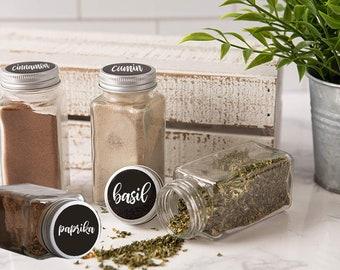 Spice Jar Labels SVG Files. 11 Labels.