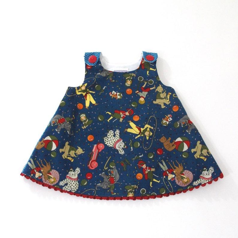 1f8cc98267 6-12 Months Circus Baby Dress Girls Dress Carnival Dress
