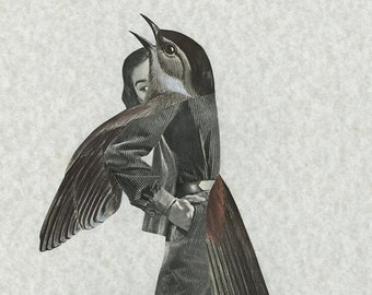Shift. Original collage by Vivienne Strauss.