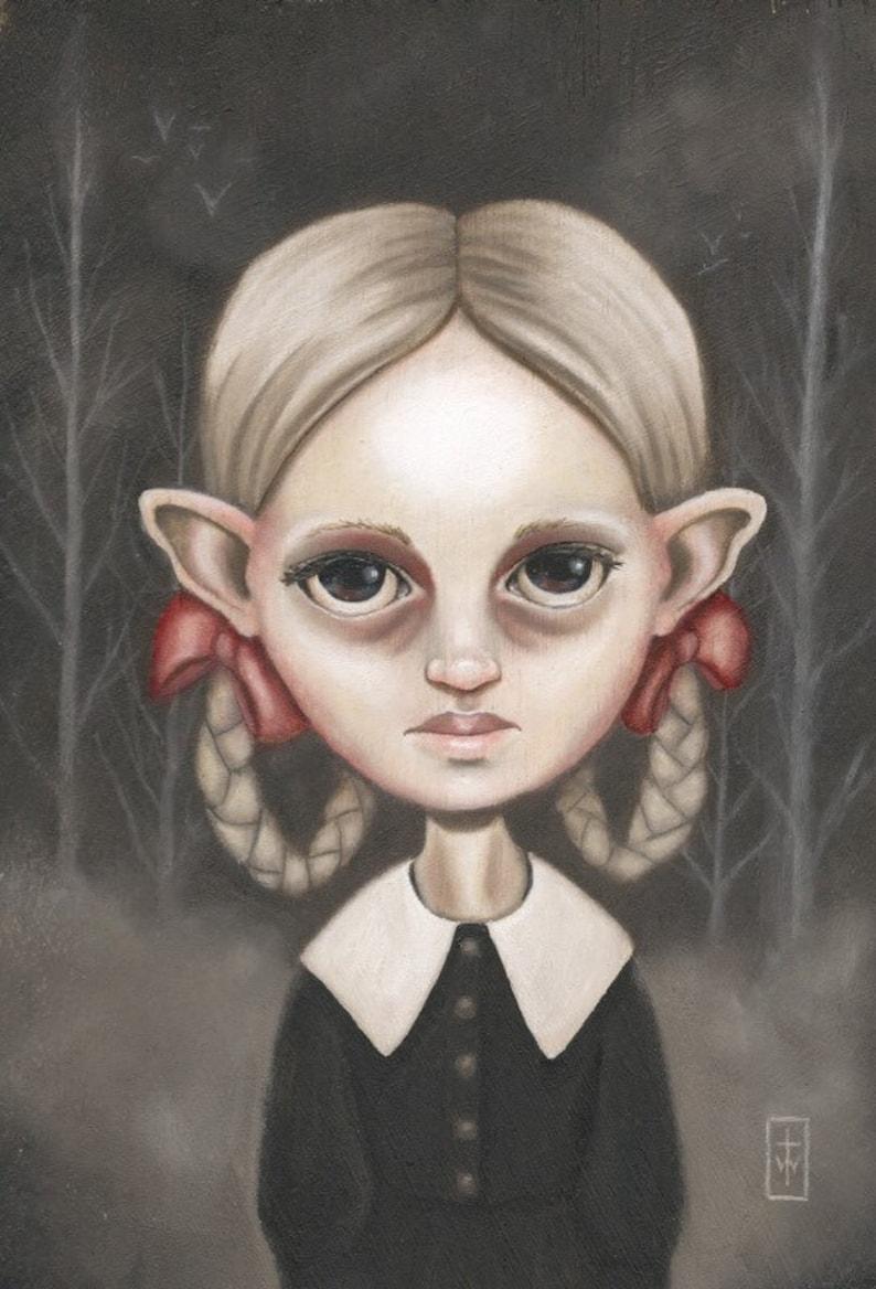 Salem  Original Painting by Terri Woodward image 0