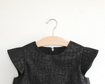 SAMPLE SALE | nero | modern girl dress | size 3, 6