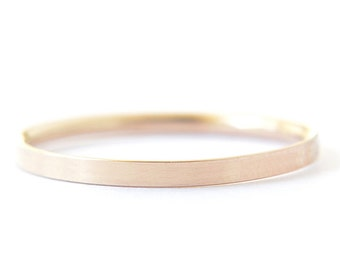 2mm Gold filled flat band - simple gold ring - stacking ring - minimalist jewelry - simple gold ring - thin low profile ring - Helena 2mm