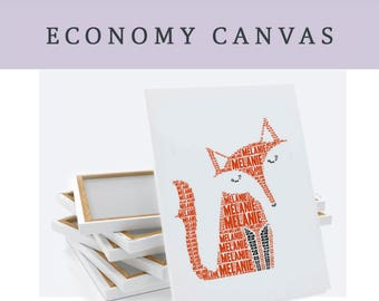 UPGRADE to an Economy Canvas - for any wall art print in my shop