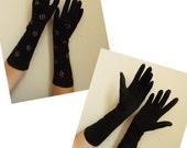 Vintage Mid Century Ladies Gloves Sized 6 and 6 1/2
