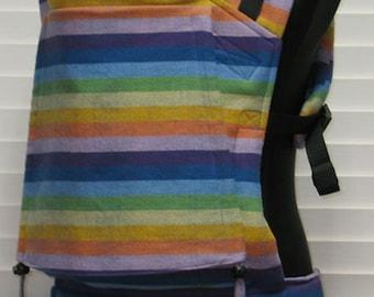 4963d7c2308 Bamberoo SSC Semi-custom wrap conversion - Girasol I believe in Rainbows  azul weft