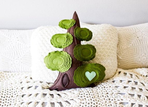 Tree Pillow- Giant Sequoia