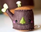 Pincushion- Mr Tree Stump Plush- Medium Size