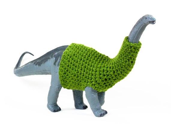 Apatosaurus in a Sweater