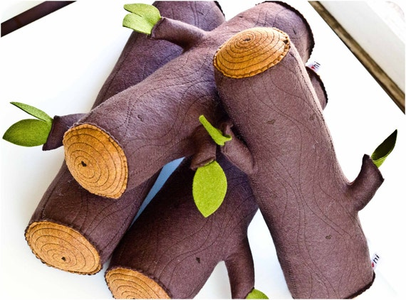 Bolster Roll Pillow - Wool Log