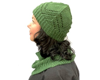 Celestia Hat PDF Knitting Pattern Download