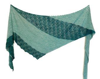 Lilli Pilli Shawl PDF Knitting Pattern Download