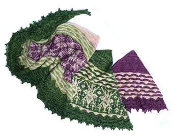 Caladenia Cowl PDF Knitting Pattern Download