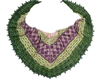 Caladenia Shawl PDF Knitting Pattern Download
