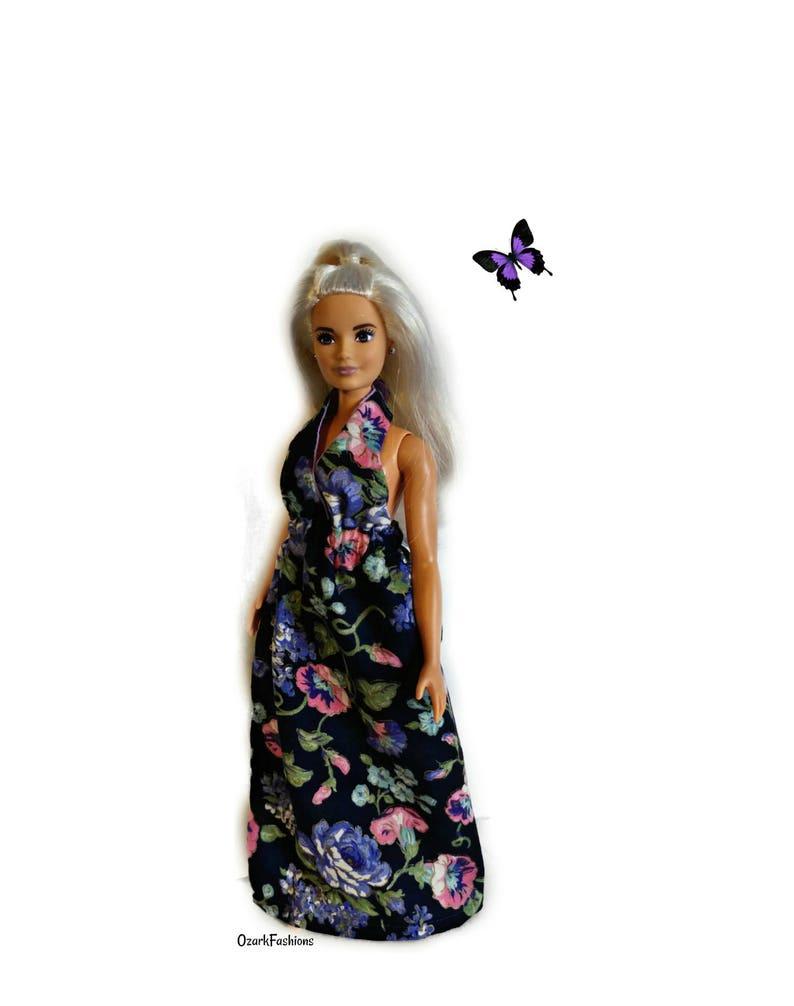 f07a187c33 Barbie Dress ONE SIZE fits ALL Curvy Tall Modern