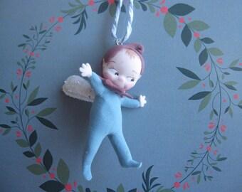 Flying elf figurine