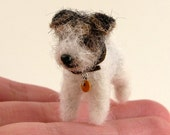 Commission a REALISTIC Needle Felted Likeness of your Dog or Cat - Custom Order Sculpture