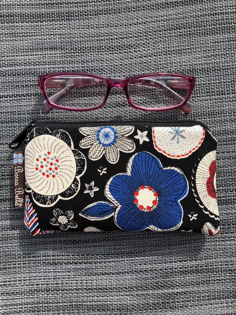 Boho Zipper Pouch Cute Small Zipper Pouch Perfect Zipper Pencil Pouch Small Makeup Bag Pastel Perfect Fabric