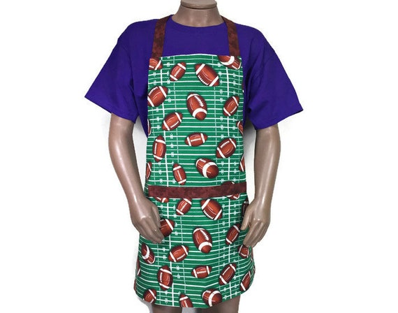 Dolphins Print Apron Made in the USA America UNIQUE APRONS Large Adjustable