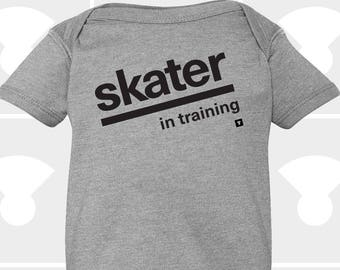 Skater In Training - Baby Onesie