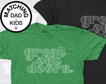 Matching Dad and Me Shirt - Great Outdoors
